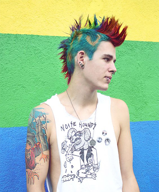 Upscale Punk Mohawk Hairstyles for Men