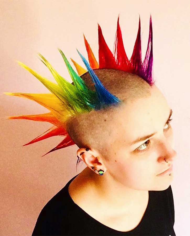 Double Rainbow Spikes