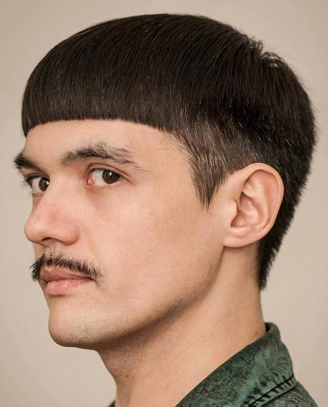 The Beatles Inspired Bowl Cut