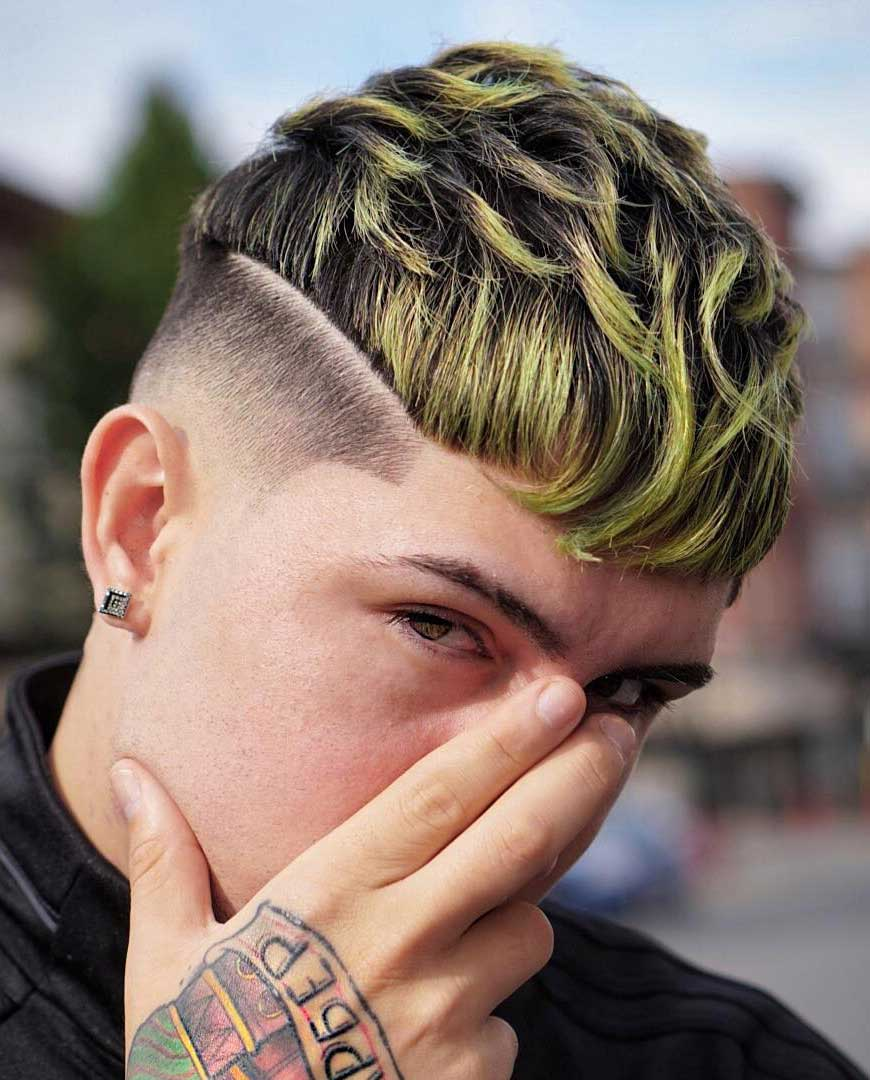 Disconnected Undercut Fade