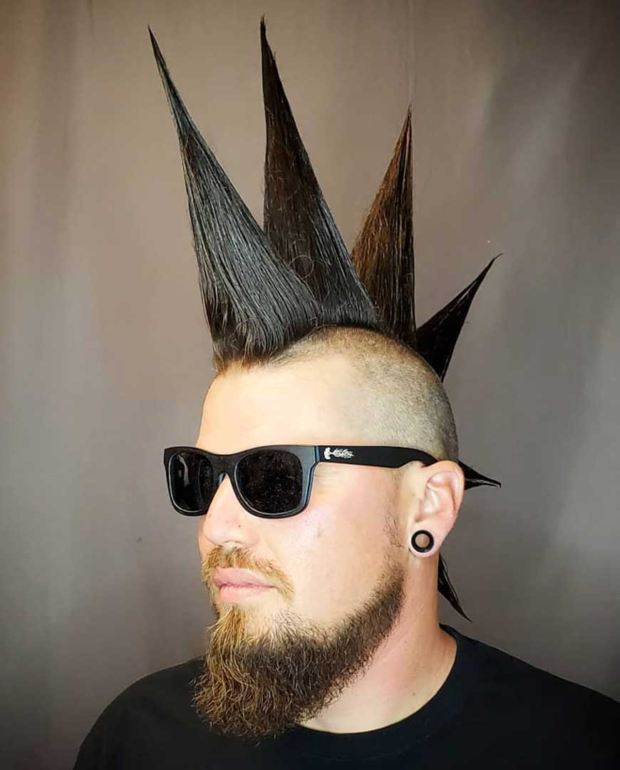 Thick Liberty Spike Mohawk