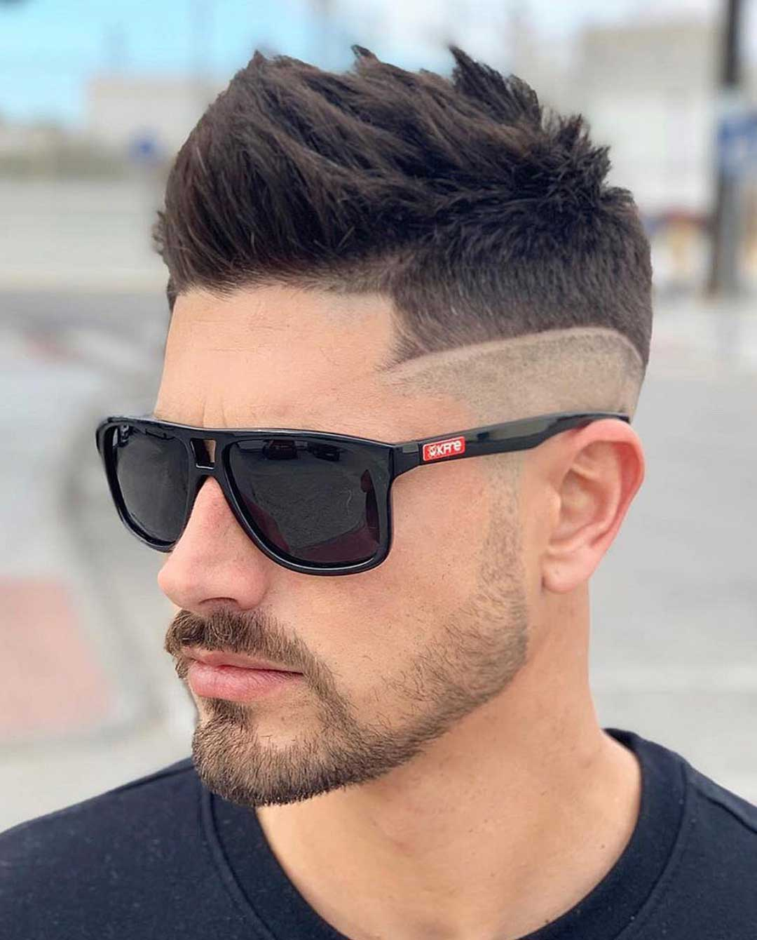 Fohawk with Drop Fade