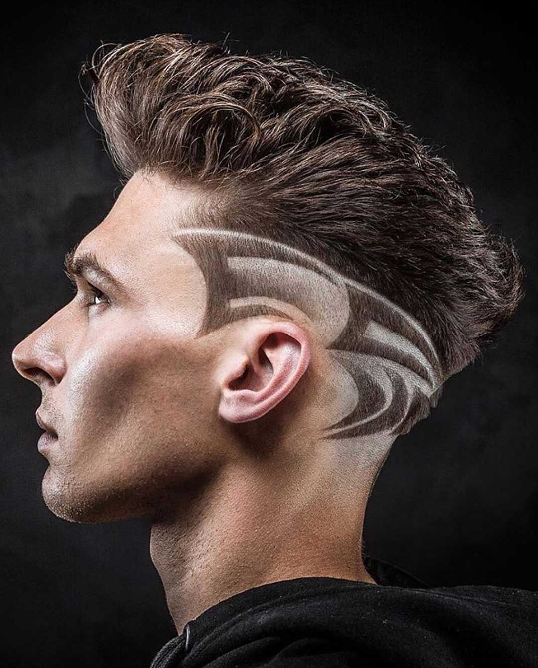 Abstract Design Haircut