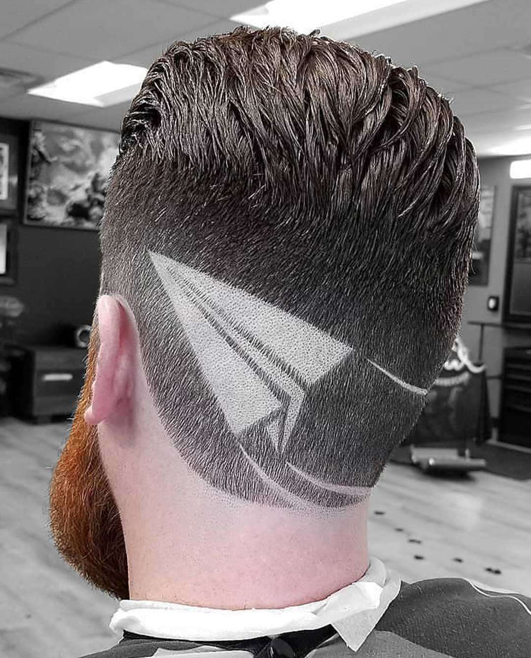 Airplane Hair Design