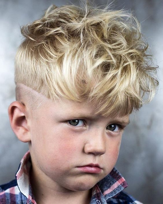 Little boy wavy haircuts
