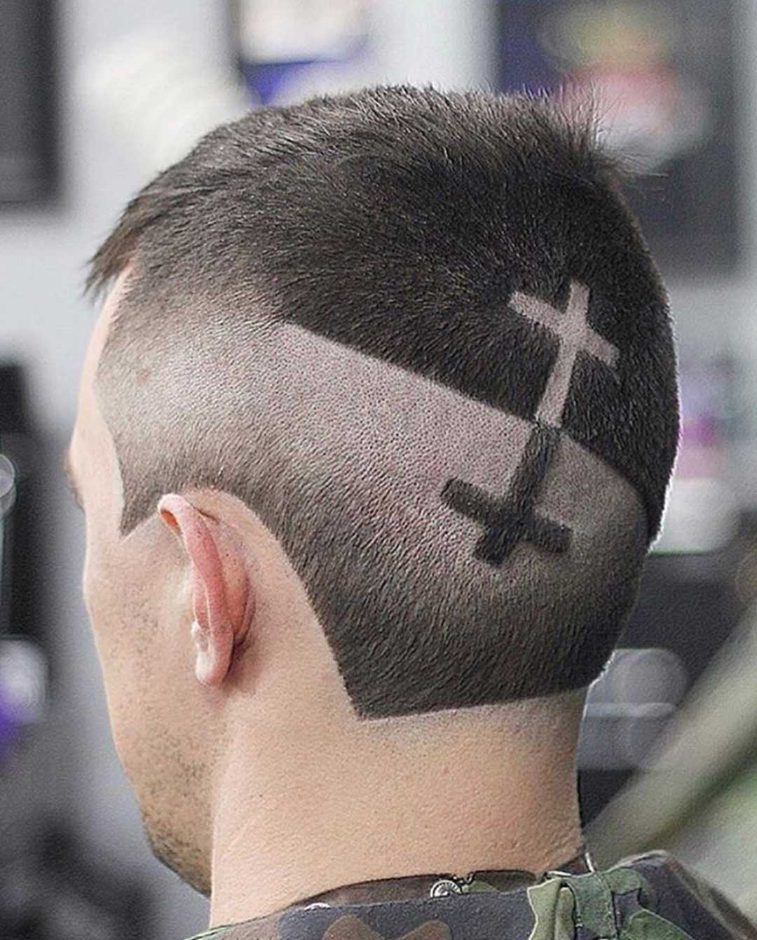 Cross Hair Design with Fades