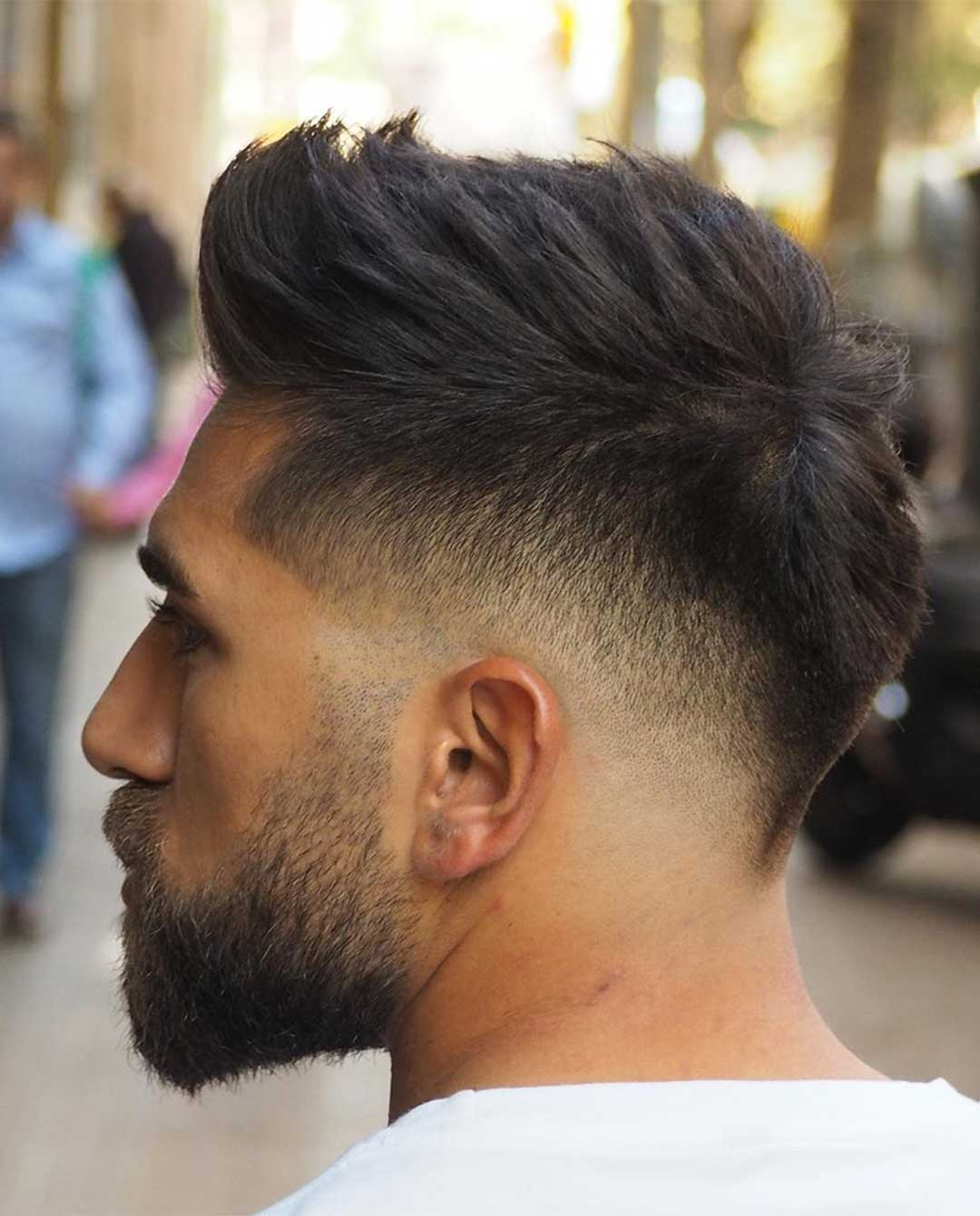 High Volume Top with Low Fade