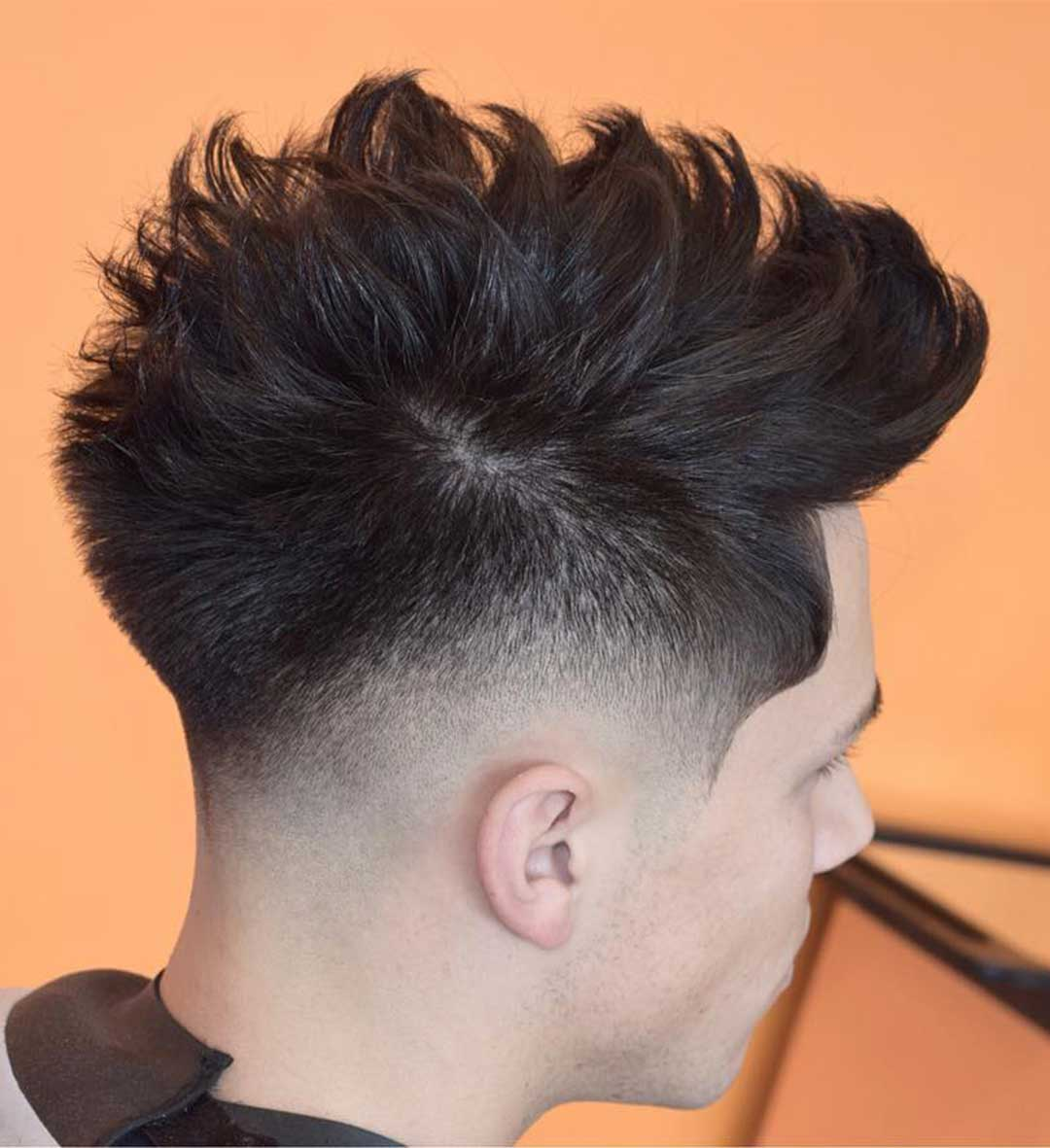 Messy and Spiky Fohawk