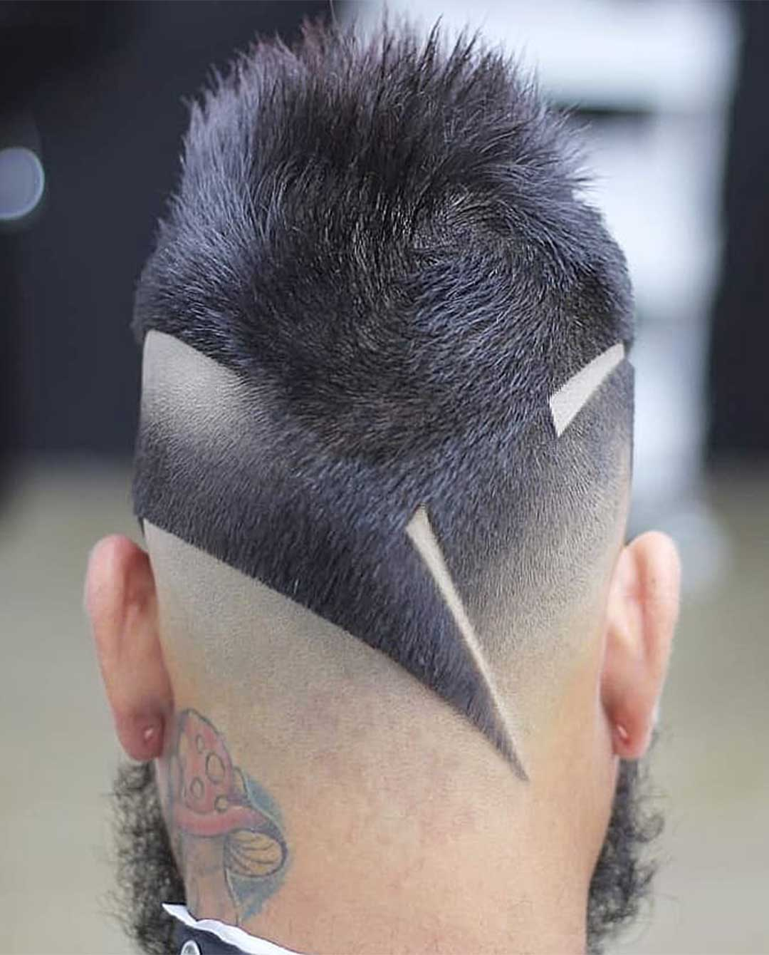 Modern Hair Design with Fades