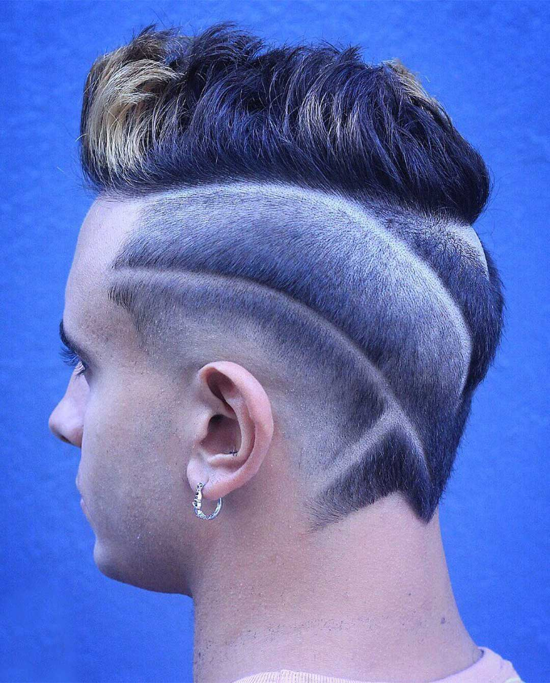 Multiple Fades Hair Design