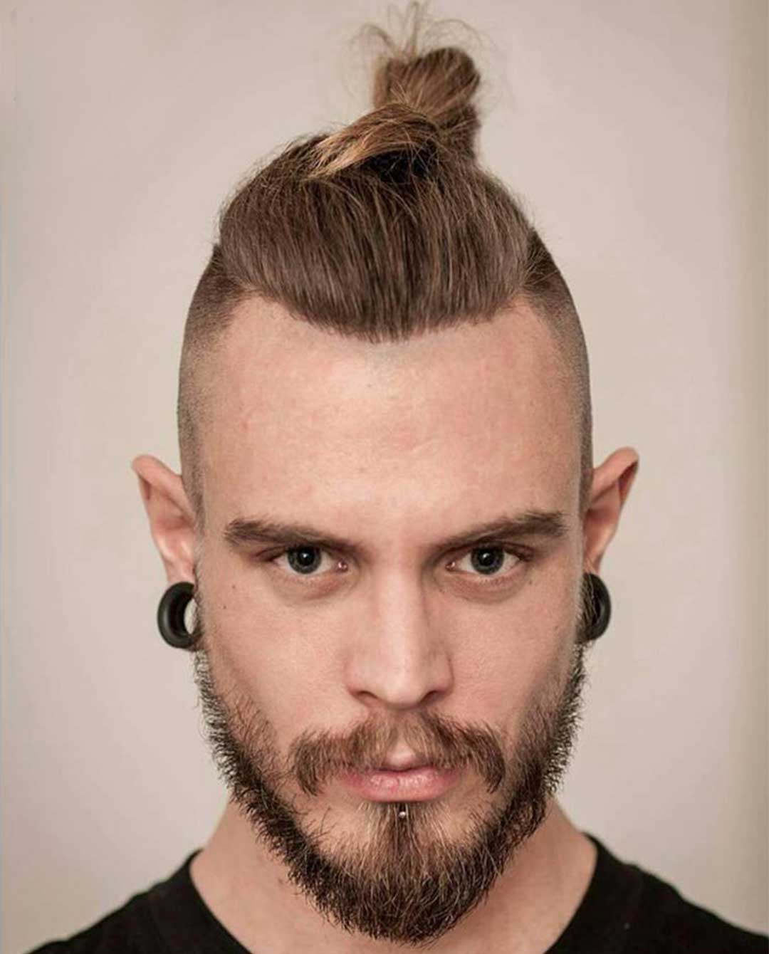Slicked Back Top Knot