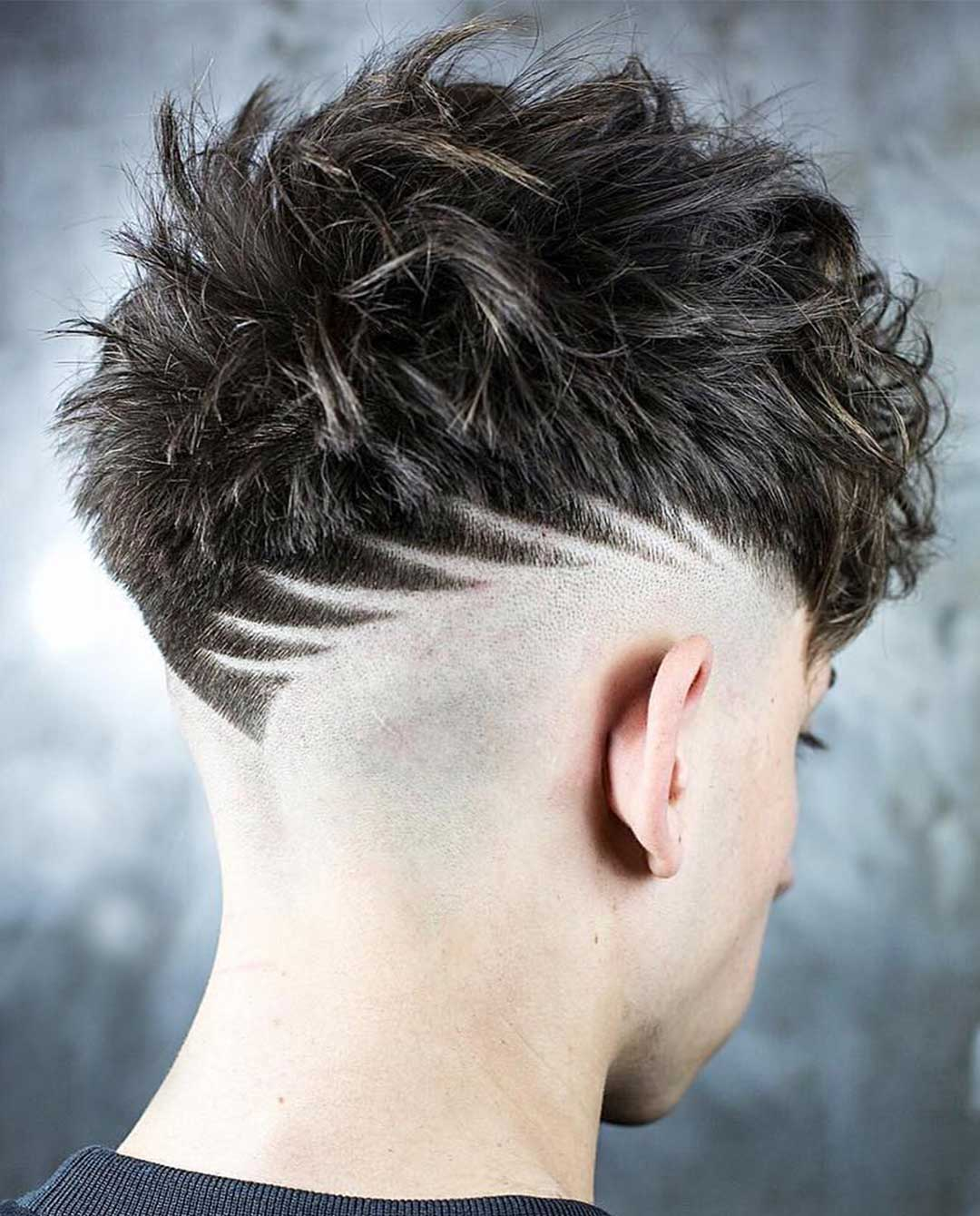 Thorns Hair Design with Skin fade