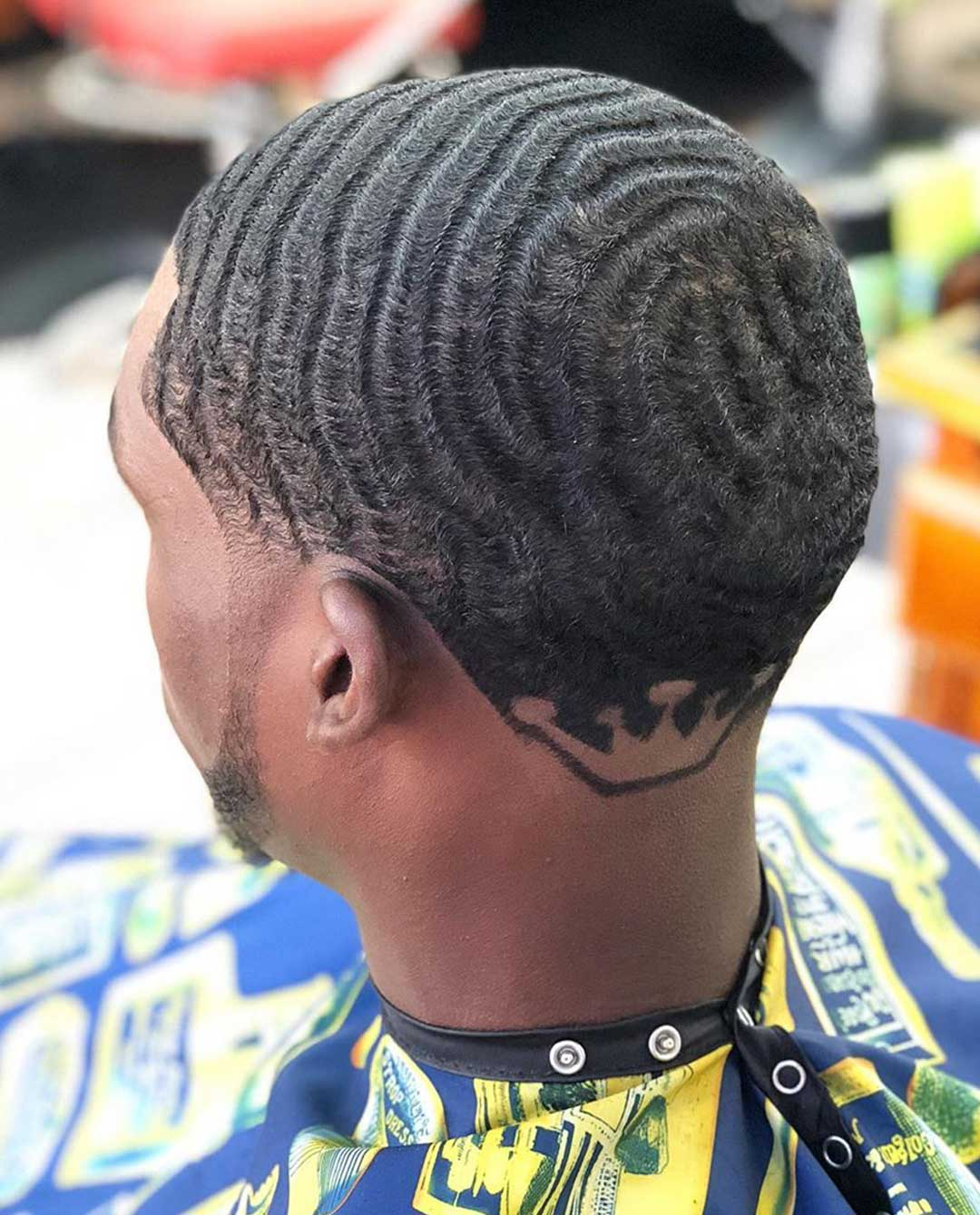 180 Waves with Back Design