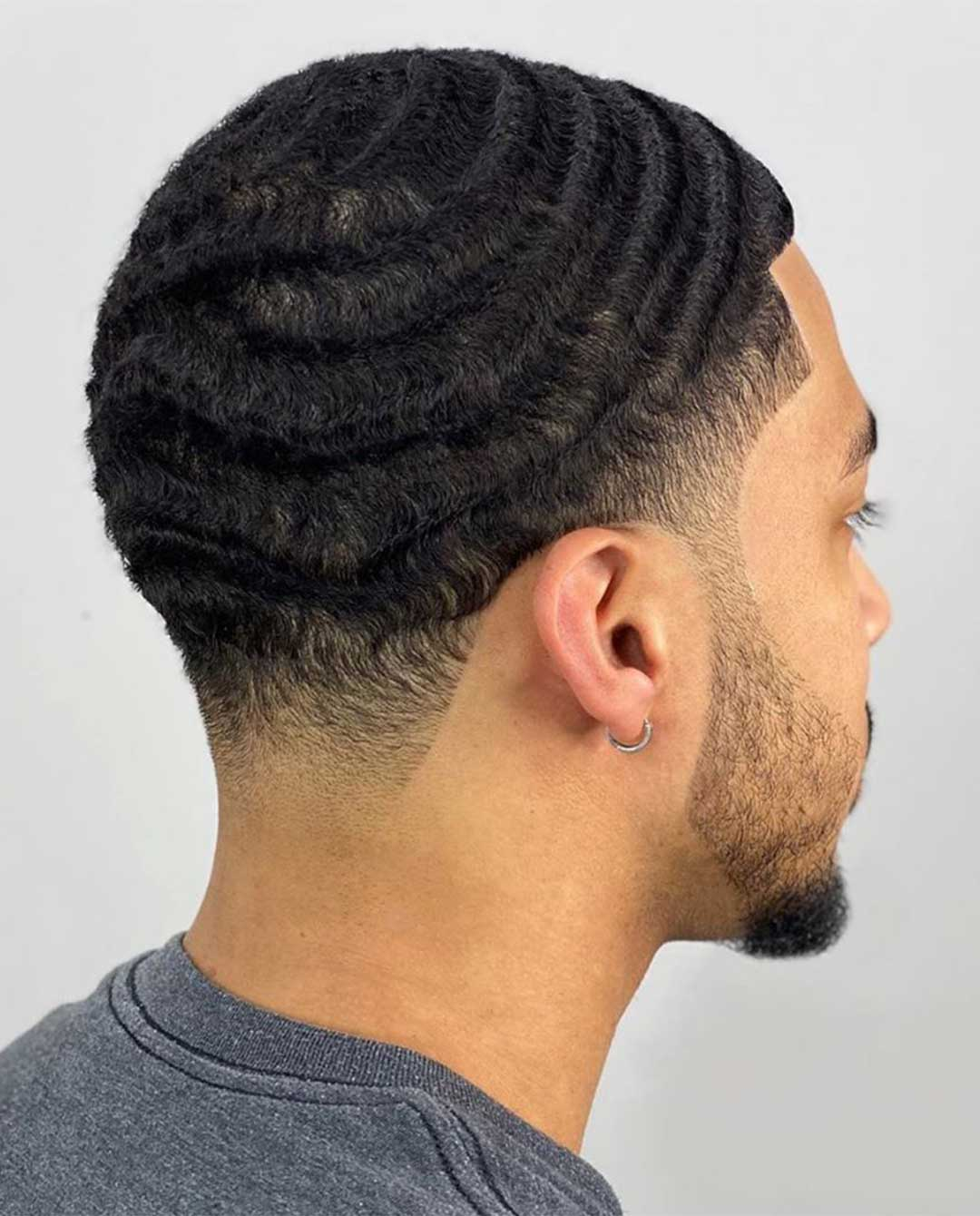 2 Guard Haircut Waves with Taper