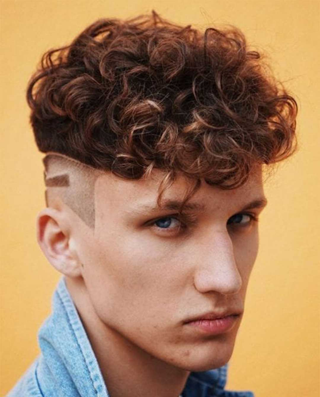 Perm with Side Design