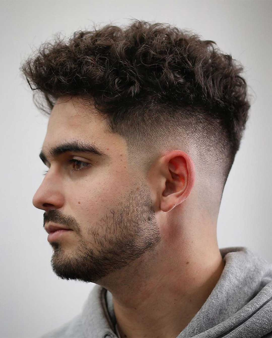 Simple Perm Hairstyle
