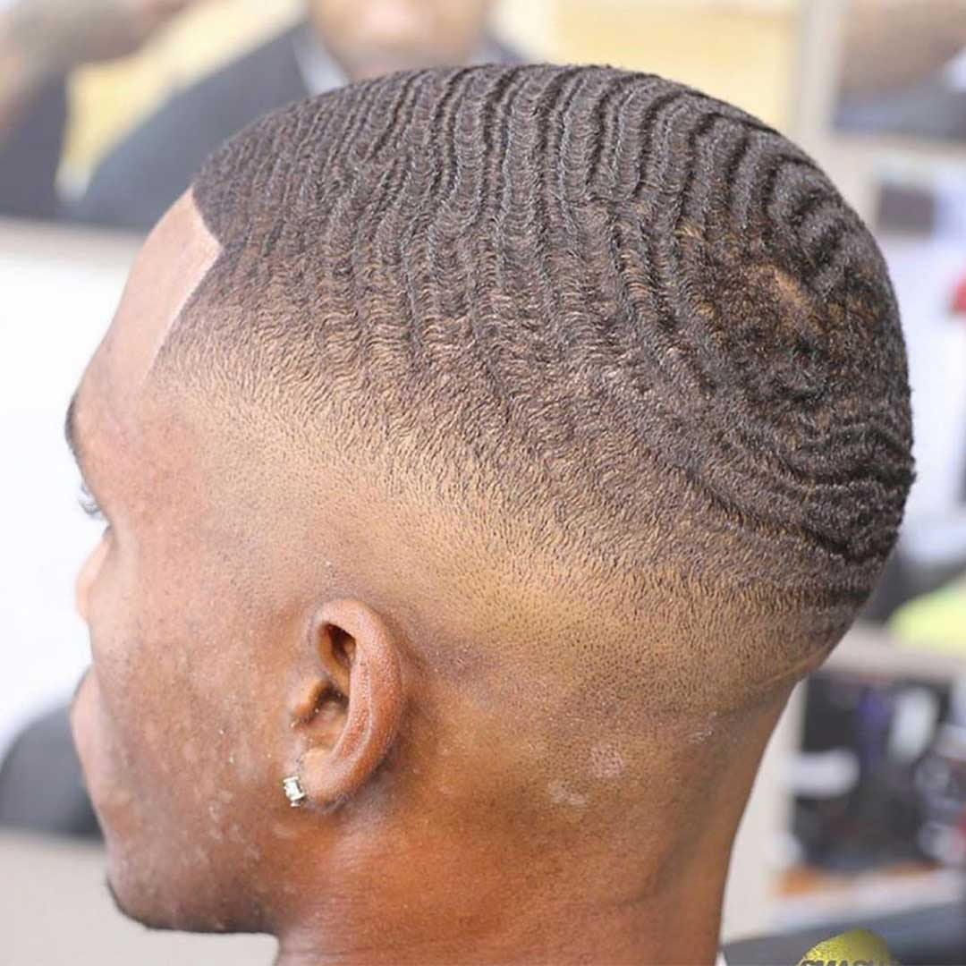 360 Waves with Skin Fade
