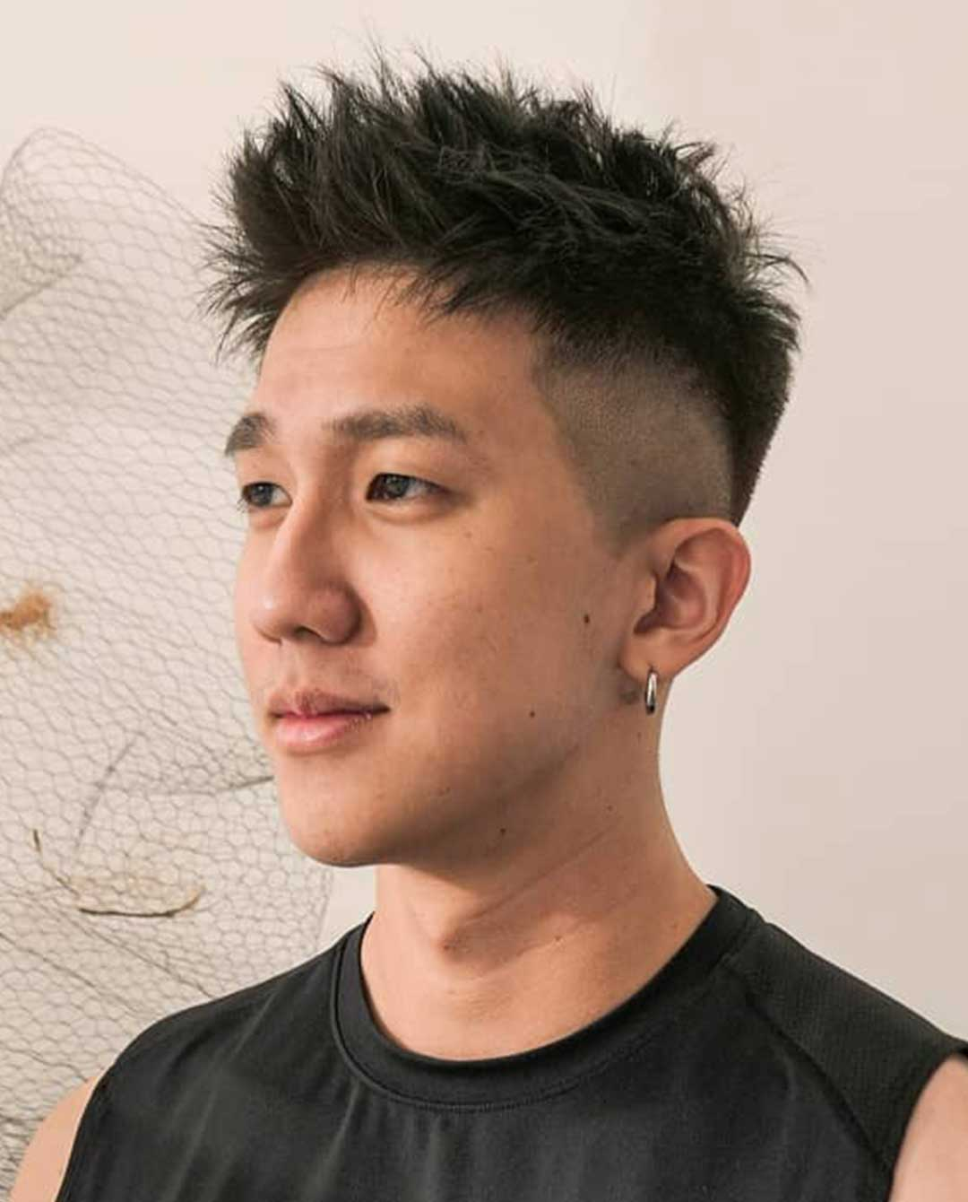 Spiky Top with Undercut
