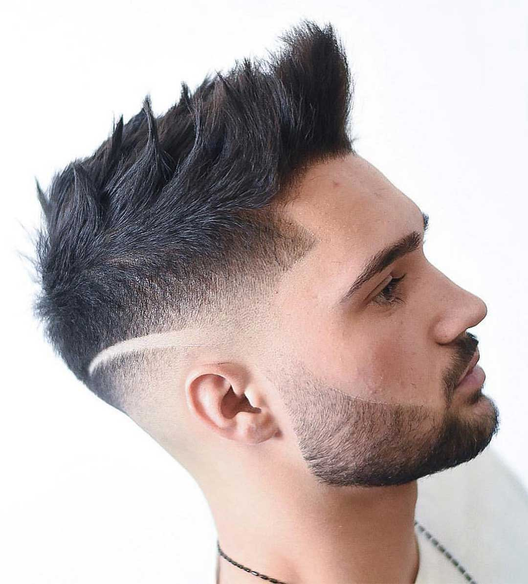 Textured and Spiky Haircut