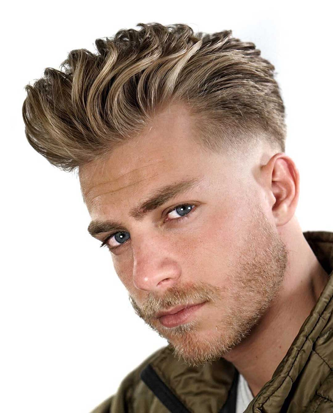 The High Textured Coif