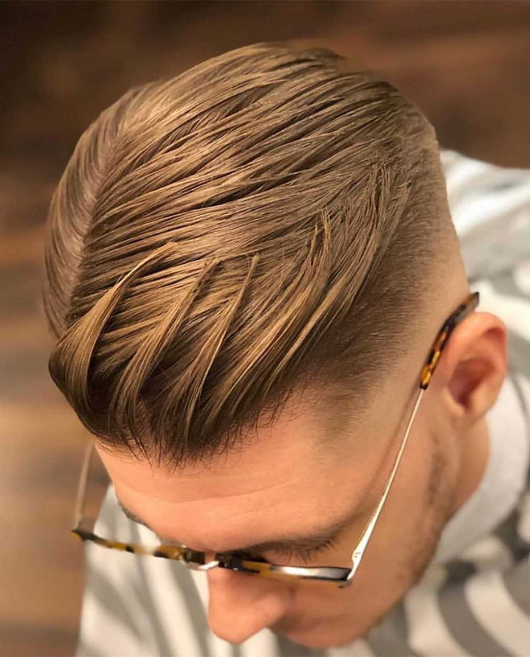 The Textured Comb-Over