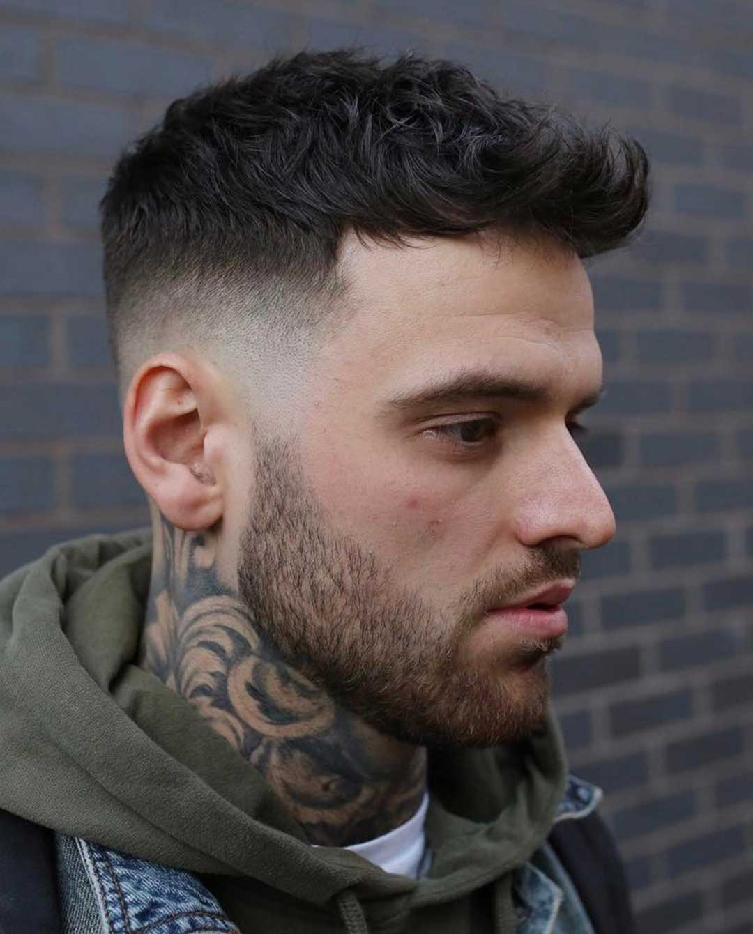 Faux Hawk with High Fade