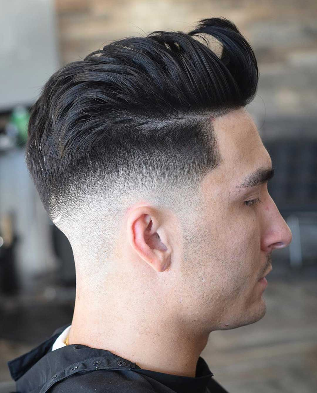 Layered Comb Over