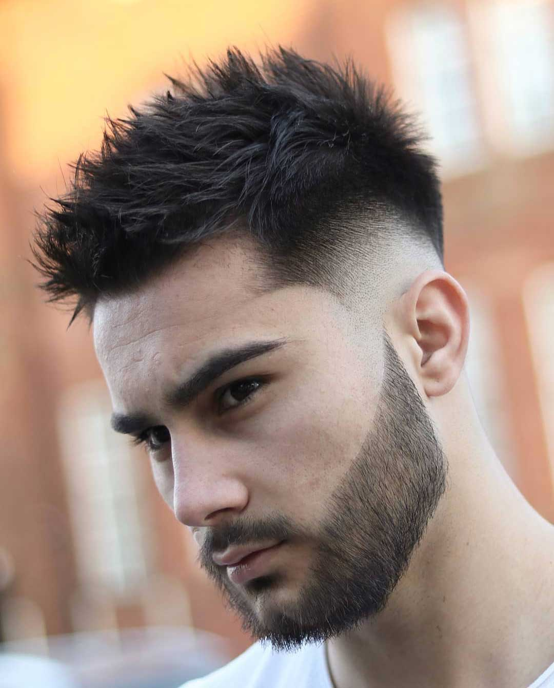 Quiff with Skin Fade