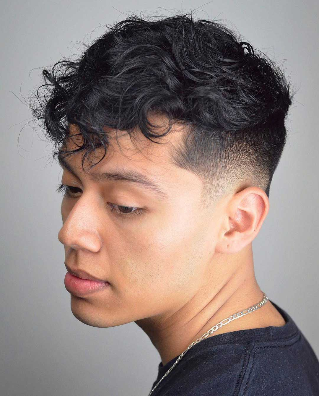 Messy Top with Low Fade