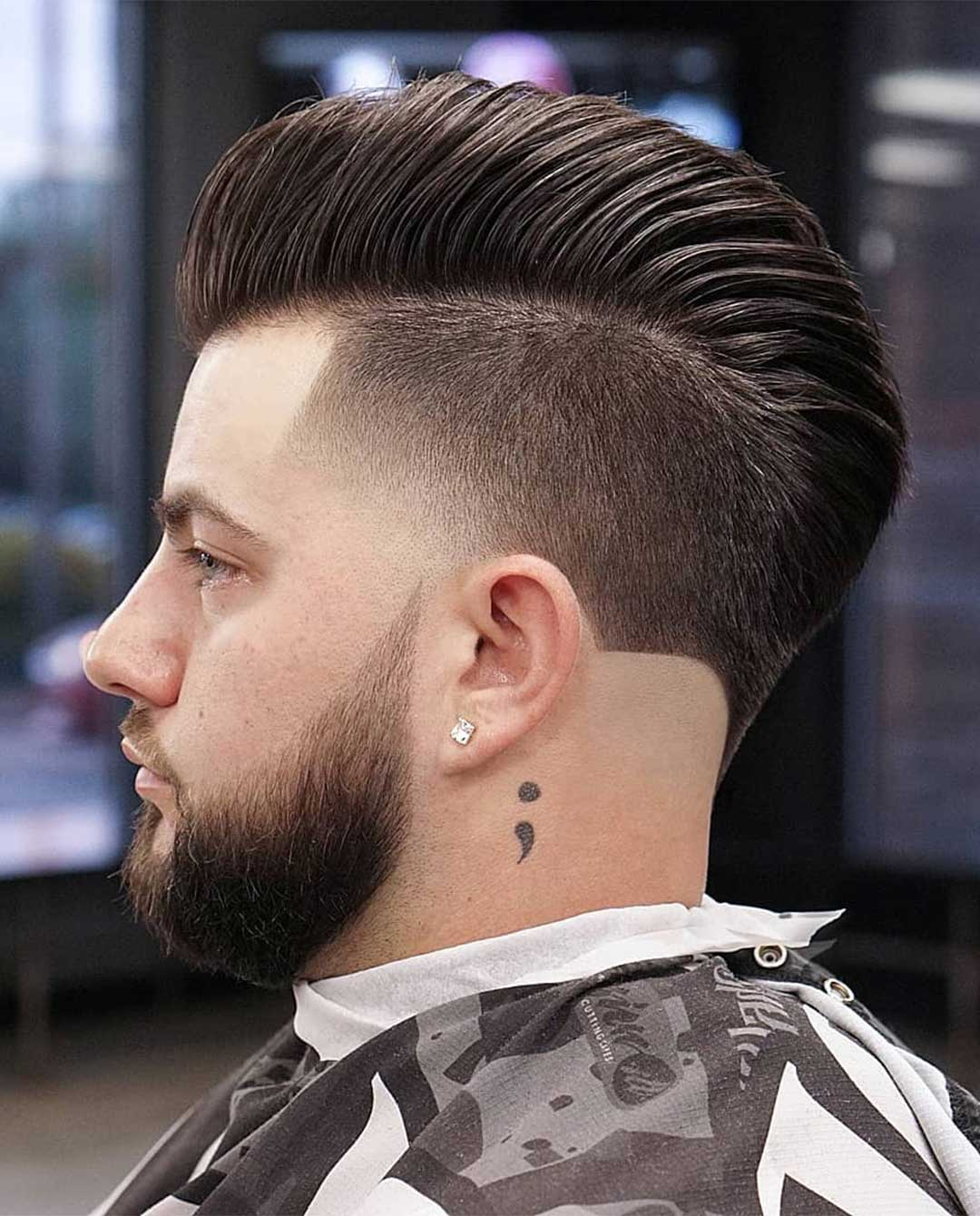 Mohawk with Taper Fade