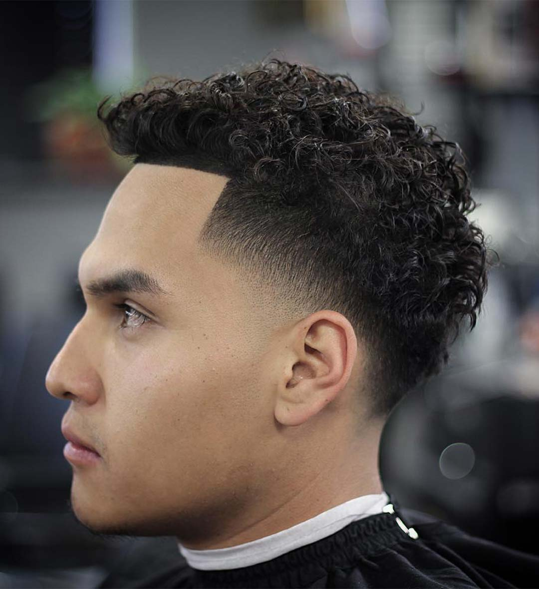 Taper Fade Curly Hair