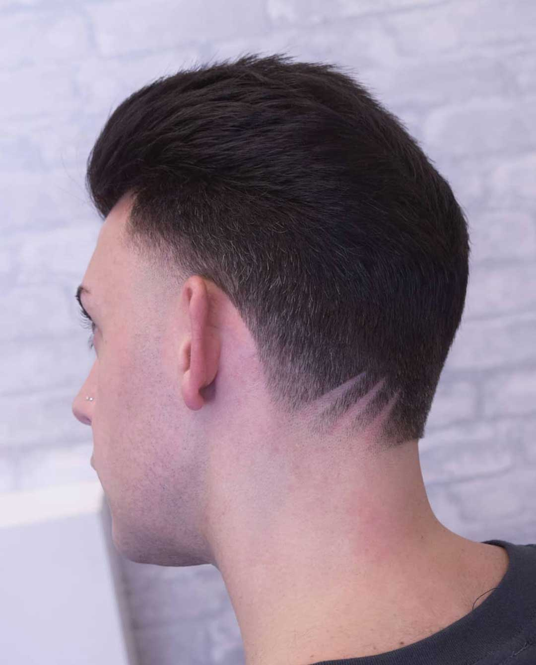 Taper with High Line Up